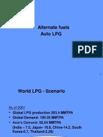 Alternate fuels Auto LPG