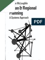 Urban & regional planning- A Systems Approach