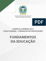 FUNDAMENTOS DA EDUCAÇÃO_livro