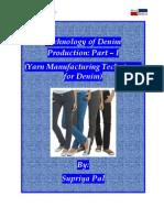 Technology of Denim Production Part – I