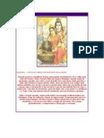 Shiva Com Parvati e Ganesha
