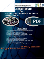 Piping Design and Detailed Engineering