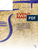Event Manager_ Over More Than 20 Years of Successful Meetings