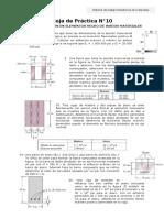 Práctica n°10  flexion en vigas hecho de varios materiales