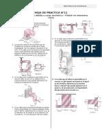 practica n°11-flexion en vigas con carga excentrico