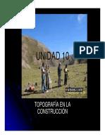 UNIDAD 10 TOPOGRAFÍA EN LA CONSTRUCCIÓN [Modo de compatibilidad]