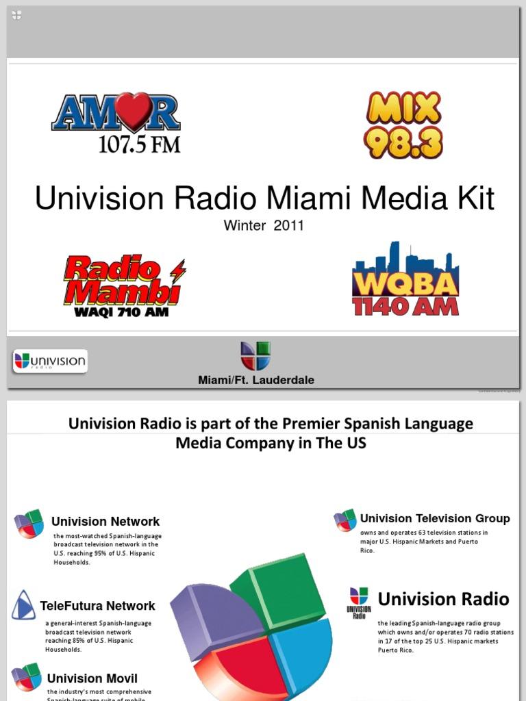 mediakit - univision | univision | hispanic and latino americans