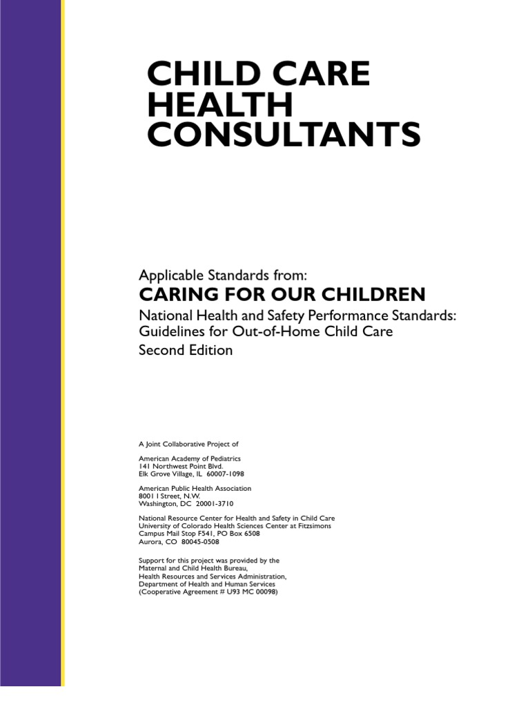 Child care: hygiene and treatment for a child of 3-6 years