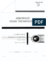 Aerospace Food Technology
