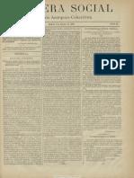 Bandera social. 9-8-1885