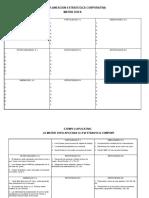 Planeación Estrategica-Táctica, plantillas, matriz DOFA