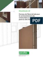 Fiche Technique PAVAPLAN 3-F