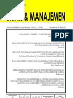 Jurnal Bisnis&Manajemen Unila Mei 2010