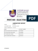 Lab Report Electronic