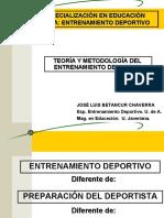 Definición Ento Dptivo, Preparación del Dptista y componentes..ppt