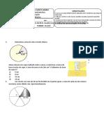 prova de recuperação - MATEMÁTICA 9ºano A, B e C