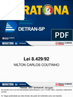 Maratona DETRAN SP - Cargo Agente de Trânsito - Nilton