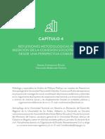 Reflexiones metodológicas para la medición de la cohesión socioterritorial en Colombia