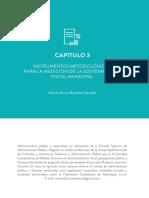 Instrumentos metodológicos para la medición de la sostenibilidad fiscal municipal en Colombia