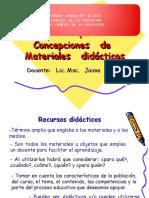 Unidad  1  concepciones  de  materiales