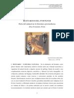 Bestiarios del porvenir. Guía del animal en la literatura posmoderna