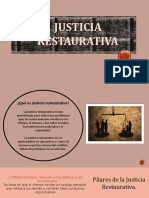 Presentación Justicia Restaurativa