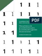 Manual básico para la constitución y gestión de asociaciones