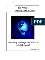 101 Ways to Change the World