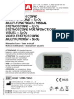 manual estetoscopio pulsoximetro contec choice CMS-VESD