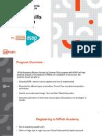 ASAP - UiPath Summer Skills Program- Student Guide