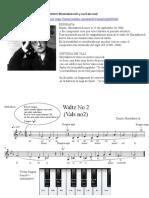 Vals 2 - Shostakovich - Score