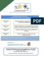 Programa Rotary t Vedras Maio 2020