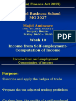 MG 3027 TAXATION -Week 10 Income From Self-employment-computation of Income(1)