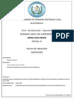 Proceso de Ejecucion de Laudo Arbitral.