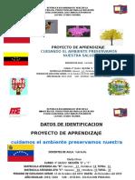 Primer Proyecto de 4to Grado 2019-2020