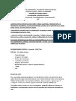 INFORME PRIMERA ENTREGA 28 DE ABRIL 2020