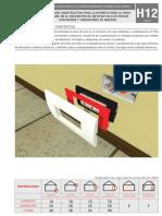 Solución constructiva HERMETICIDAD en artefactos eléctricos
