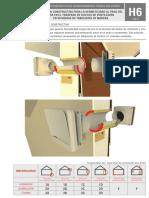 Solución constructiva HERMETICIDAD en ductos de ventilación