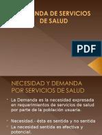 DEMANDA DE SERVICIOS DE SALUD.ppt