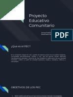 Proyecto Educativo Comunitario