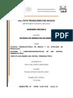 hidroelectricas DE MEXICO