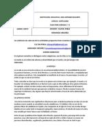 CASTELLANO - SEXTO - SEMANA 2