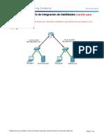 7.4.1.2 Packet Tracer - Skills Integration Challenge - ILM