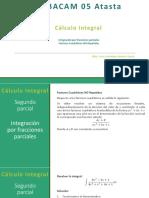 Integración por fracciones parciales. Caso Factores Cuadratico NO Repetidos.pdf