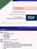 Compiladores--introduccion