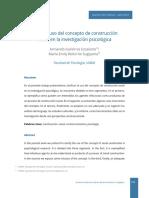 10 - Sobre el uso del concepto de construcción social