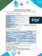 Guía de actividades y rúbrica de evaluación - Fase 4 - Proyecto