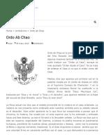 Ordo ab Chao - Masonería Mixta