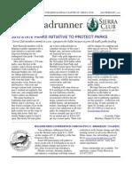 January-February 2010 Roadrunner Newsletter, Kern-Kaweah Sierrra Club