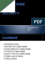 CYBER CRIME (SHUBHANKAR KESARI)